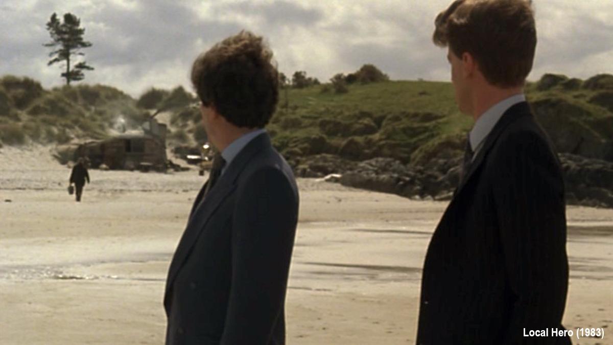 Local Hero (1983) Ben's beach
