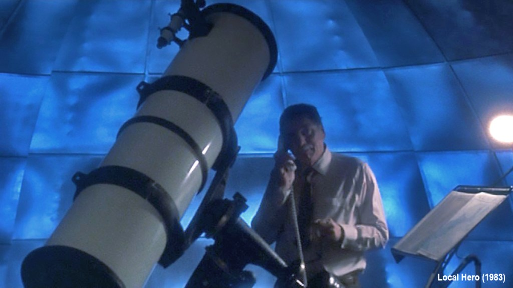 Local Hero (1983) - Happer's Telescope