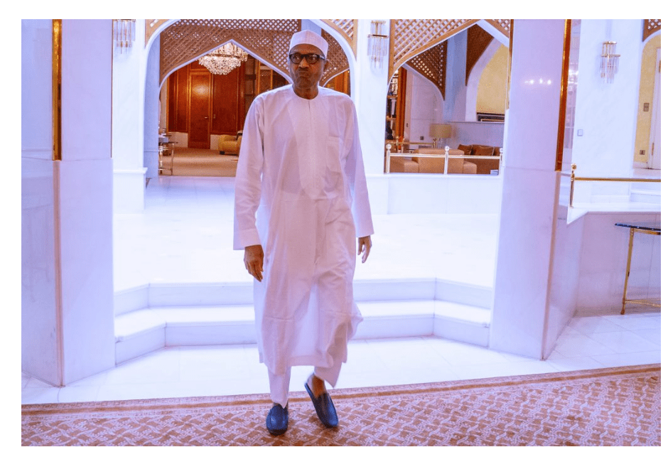 "BREAKING: Buhari finally ""appears"", holds a meeting with NCDC DG"