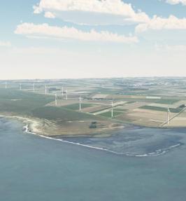 Windenergie landschapsarchitectonische opgave