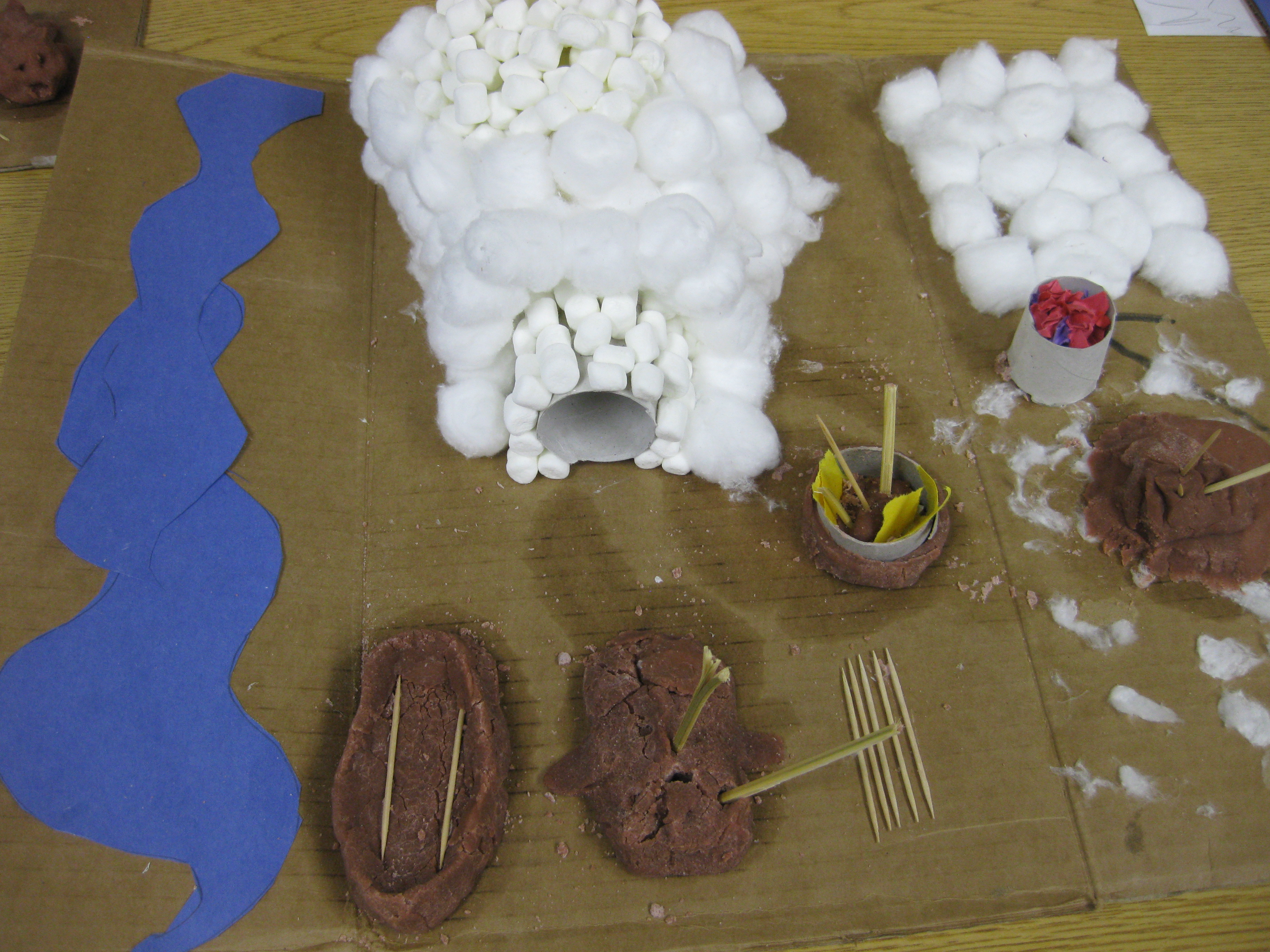 Native American Dwelling Projects