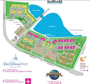 Vista Cay Orlando Map Video Vista Cay Resort Site Map Property Guide