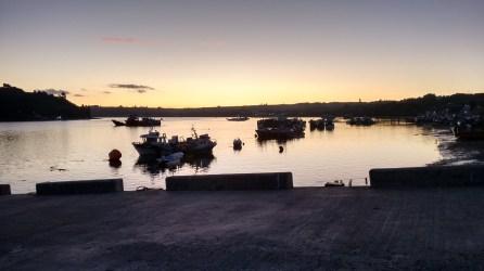 Atardecer desde Muelle - Costanera Dalcahue