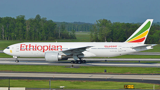 Ethiopian Airlines Newark