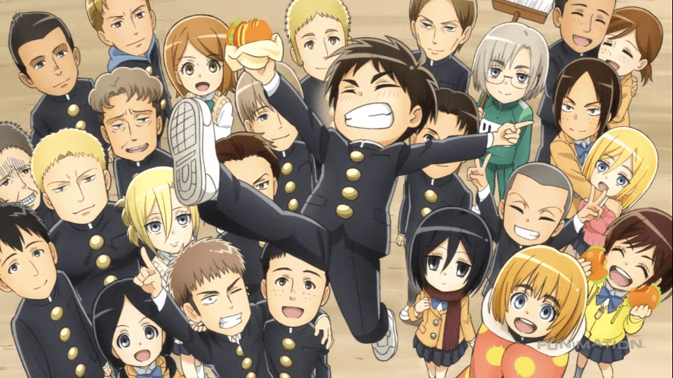 Nearly everyone has heard about the madhouse that is attack on. Attack On Titan: Junior High wallpapers, Anime, HQ Attack ...