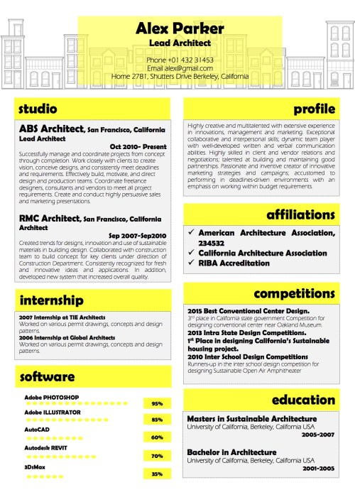 architect_resume_design_word_template