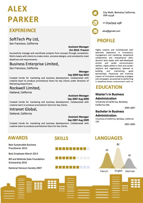 building_background_curriculum_vitae_template