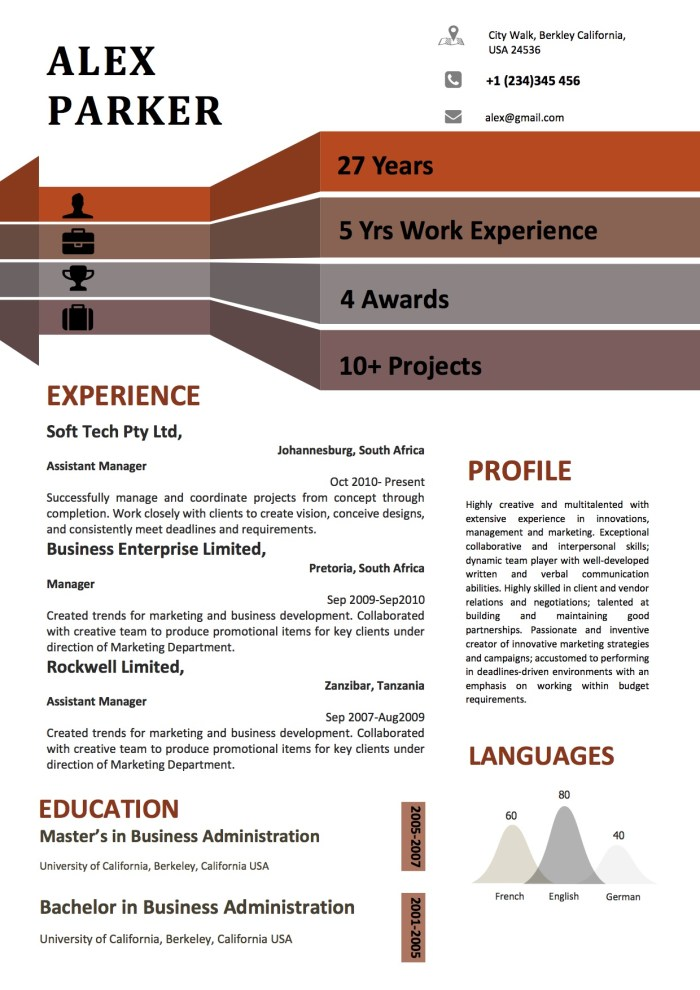 infographics_graphical_brown_red_modern_resume