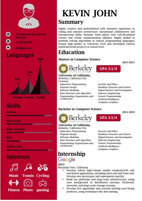 it_resume_computer_science_word_template