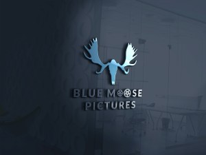 Blue Moose 3D Logo