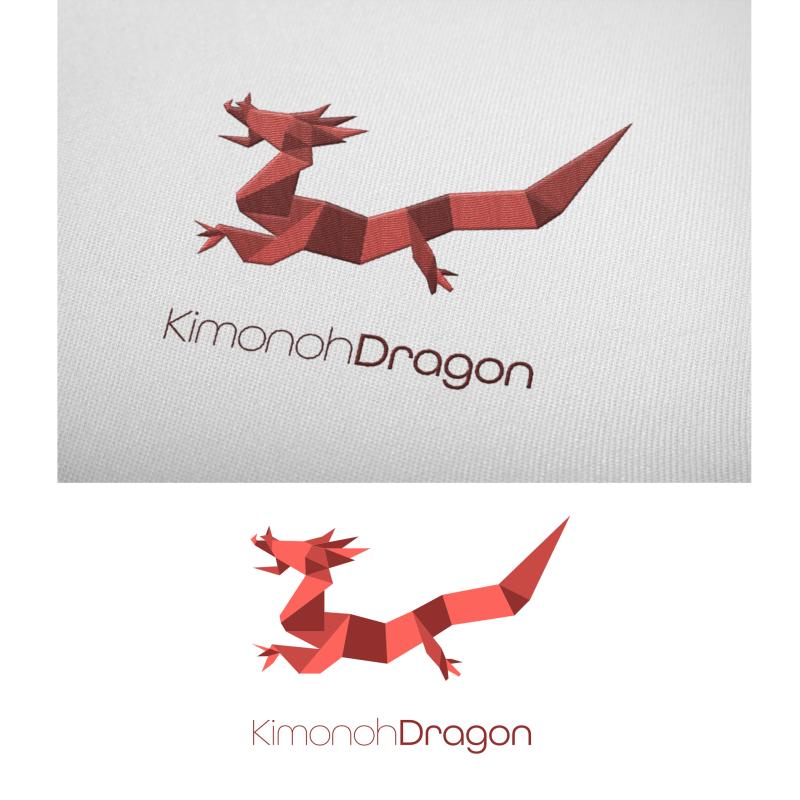 Clothing Brand Dragon Logo