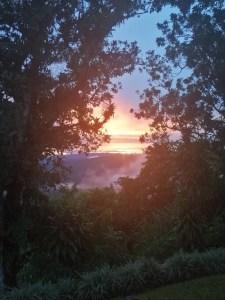 Sunset over Vista Valverde