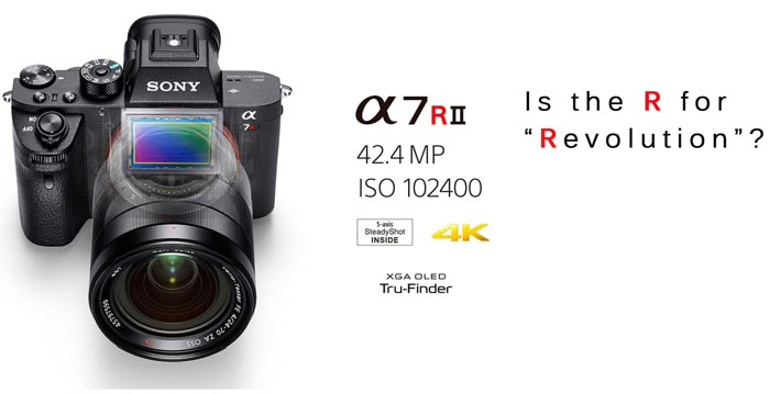 Sony A7Rii Mirrorless Revolution