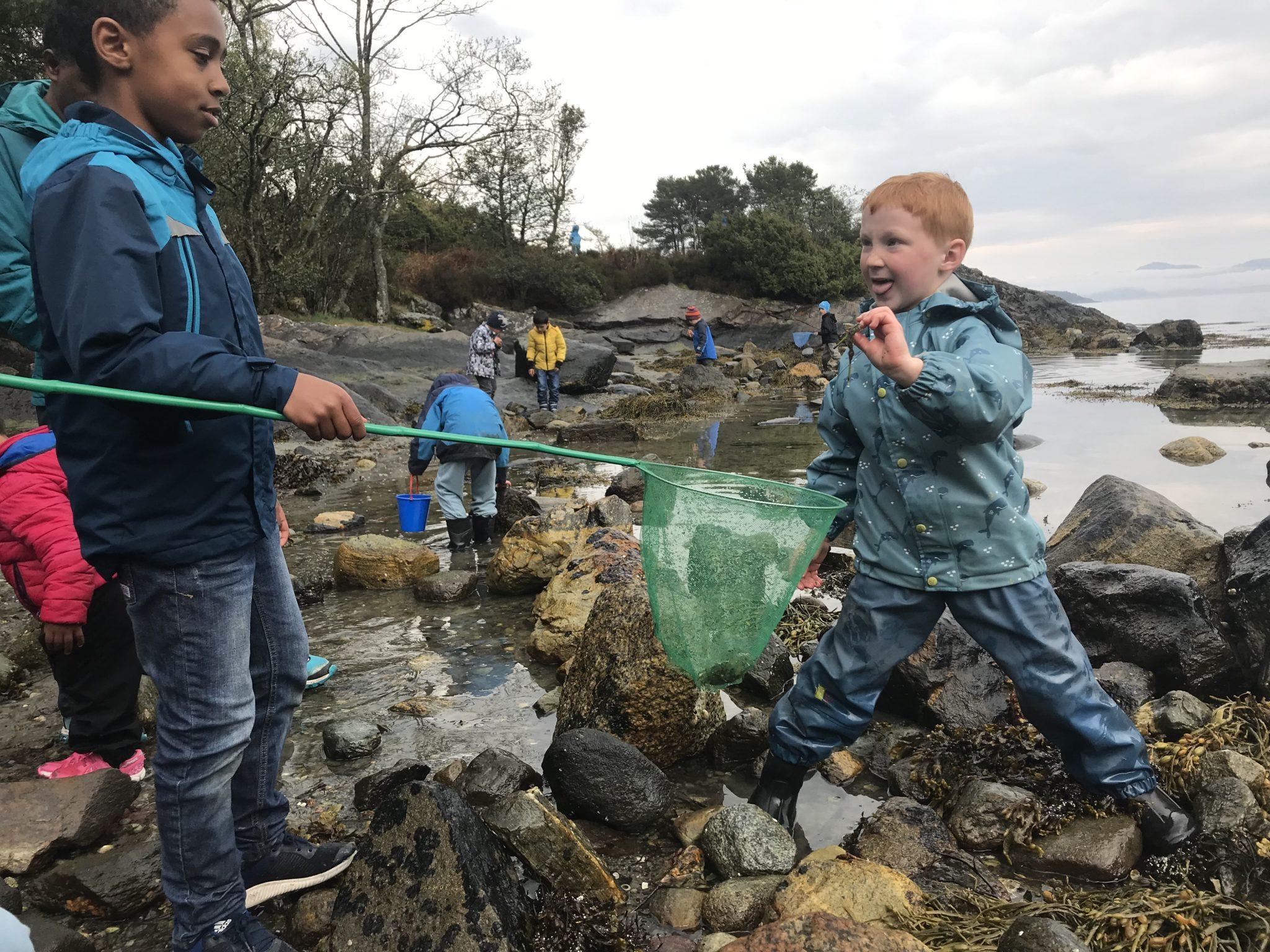 Søndagsmoro: På krabbefiske i Hystadmarkjo