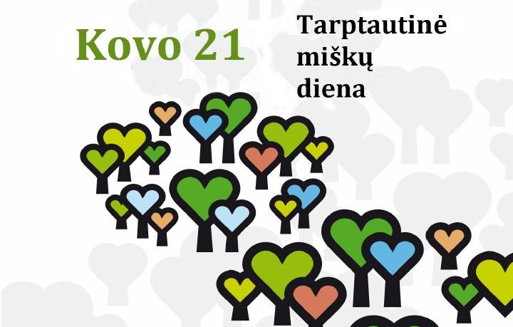 Sutikime Tarptautinę miškų dieną kartu!