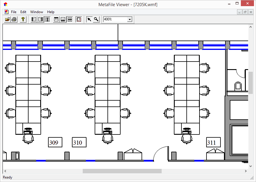 Free metafile viewer from visual integrity