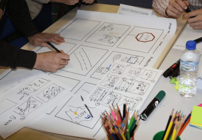 Storyboard Visual Mapping