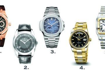 Joe Recommends: Men's Watches
