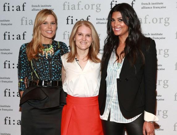 Mary Alice Stephenson, Jane Larkworthy, Beauty Director at W, Rachel Roy