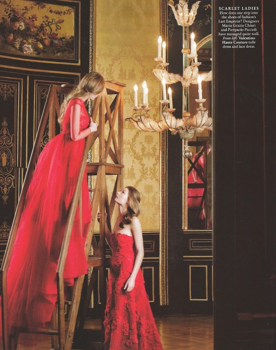 Town & Country Haute Couture Editorial May 2013 2
