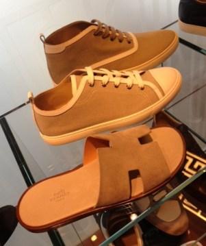 Hermès summer shoes