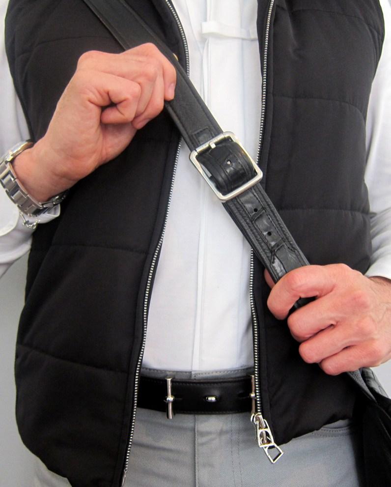 Hermes Belt, Hermes Shirt, Levi's 501 Jeans, Hermes Vest