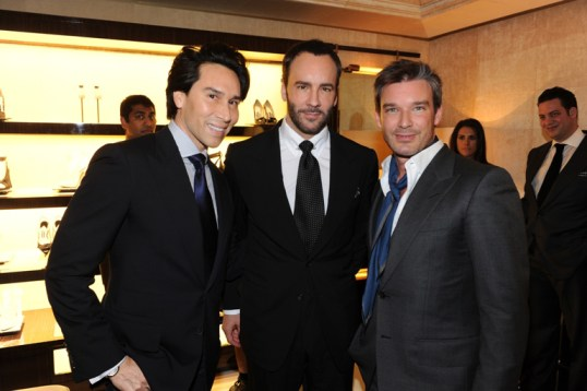 Jesse and Joe with Tom Ford