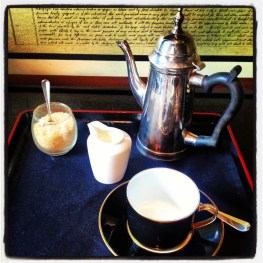 Everything, including my morning coffee.... schmaltzy in London