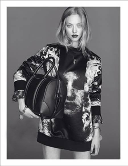 7fb3ee61d7d6 Amanda Seyfried Givenchy Fall 2013 ad campaign with bag