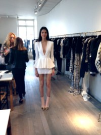 Balmain Spring 2014 Showroom