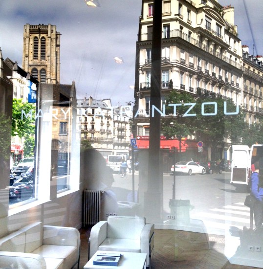Mary Katrantzou Paris showroom