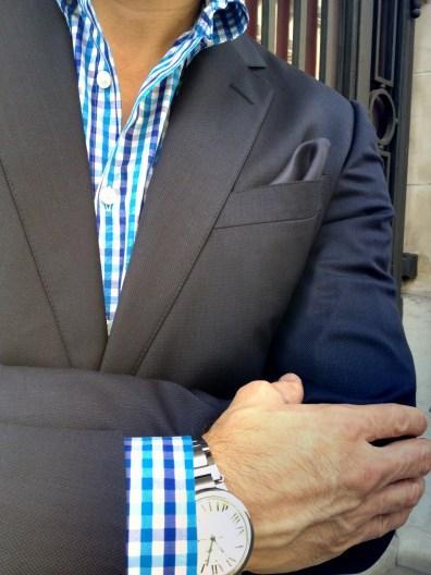 Gucci Jacket, Ascot Chang Shirt, Cartier Watch