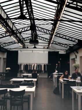Ann Demeulemeester showroom in Paris