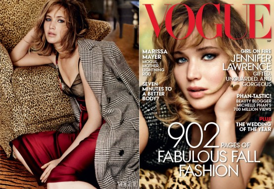 Jennifer Lawrence Vogue US