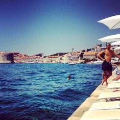 Dubrovnik poolside