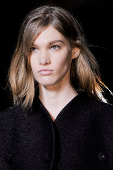 Edgy ombre hair at Proenza Schouler