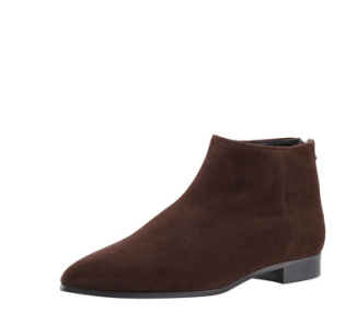 Miu Miu Suede pointed-toe flat ankle boots