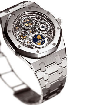 Audemars Piguet Royal Oak Perpetual Calendar In Stainless Skeleton