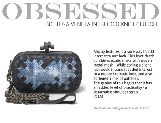 Obsessed-Bottega-Knot-Clutch