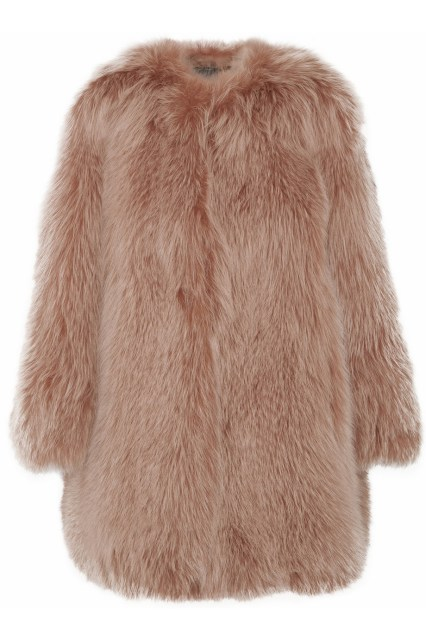 1. Marc Jacobs Fox Fur Coat