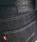 Levi's Jeans and Bottega Veneta Belt