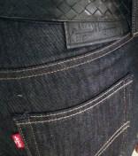 Levi's Jeans and Bottega Veneta Belt