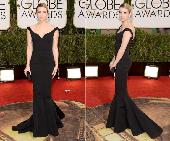Emma Roberts Golden Globes 2014