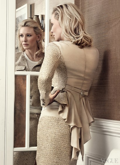 Cate Blanchett in Vogue US January 2014 | Photo by Craig McDean