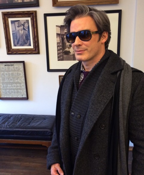 Joe Lupo at Moscot NYC