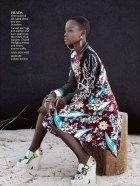 Lupita Nyong'o In Instyle