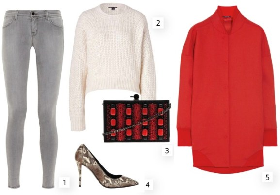 Get The Look: Chic Red Coat and Neutral Baseline