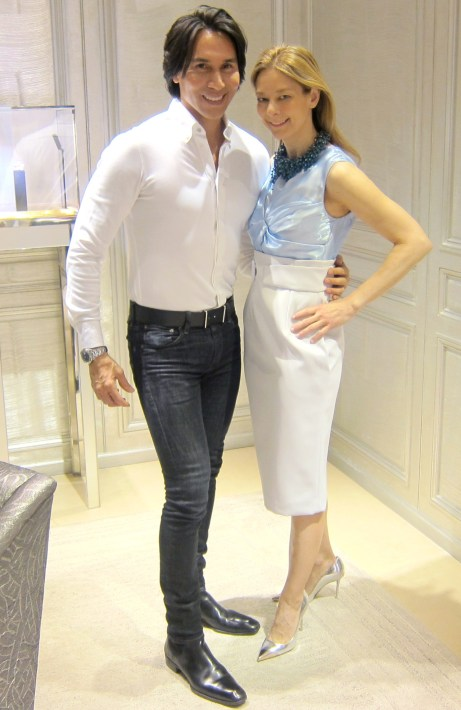 Jesse Garza with client Dr. Melinda Knight