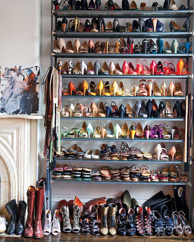Jenna Lyons' Brooklyn Closet - Shoes