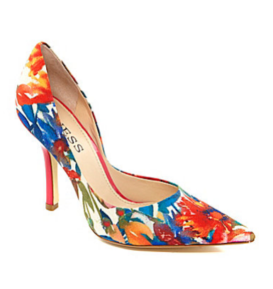Guess Carrie Floral Pumps